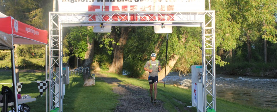 To The Ashes- Winning Bighorn 100