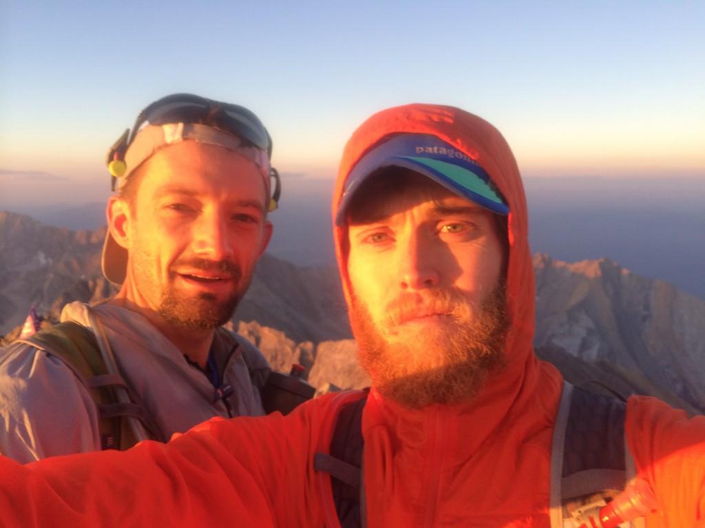 Summit #2 Borah at Sunrise
