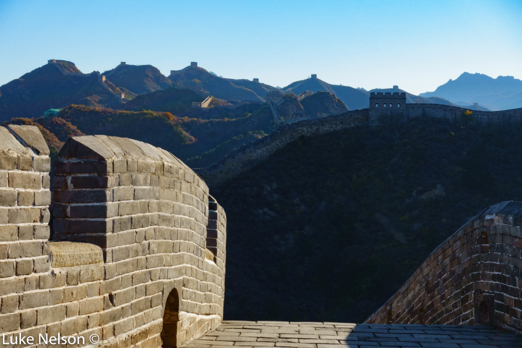 The Great Wall is a mind blowing structure.